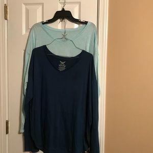 Tops - Set of 2 long sleeve shirts